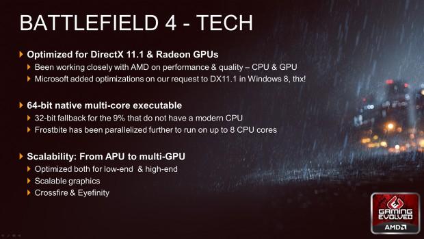 Battlefield 4 auf dem GPU14 Techday (Bild: Dice)