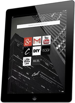 Coast by Opera: neuer Browser fürs iPad (Bilder: Opera)