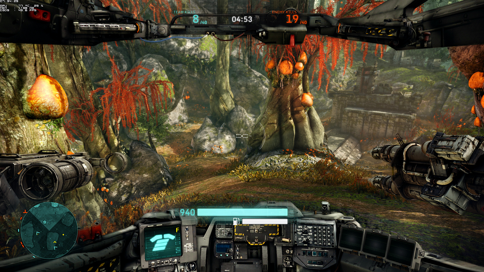 Betatest Hawken: Der F2P-UE3-Indie-Mech-Shooter - Die Map Last Eco (Screenshot: Marc Sauter/Golem.de)