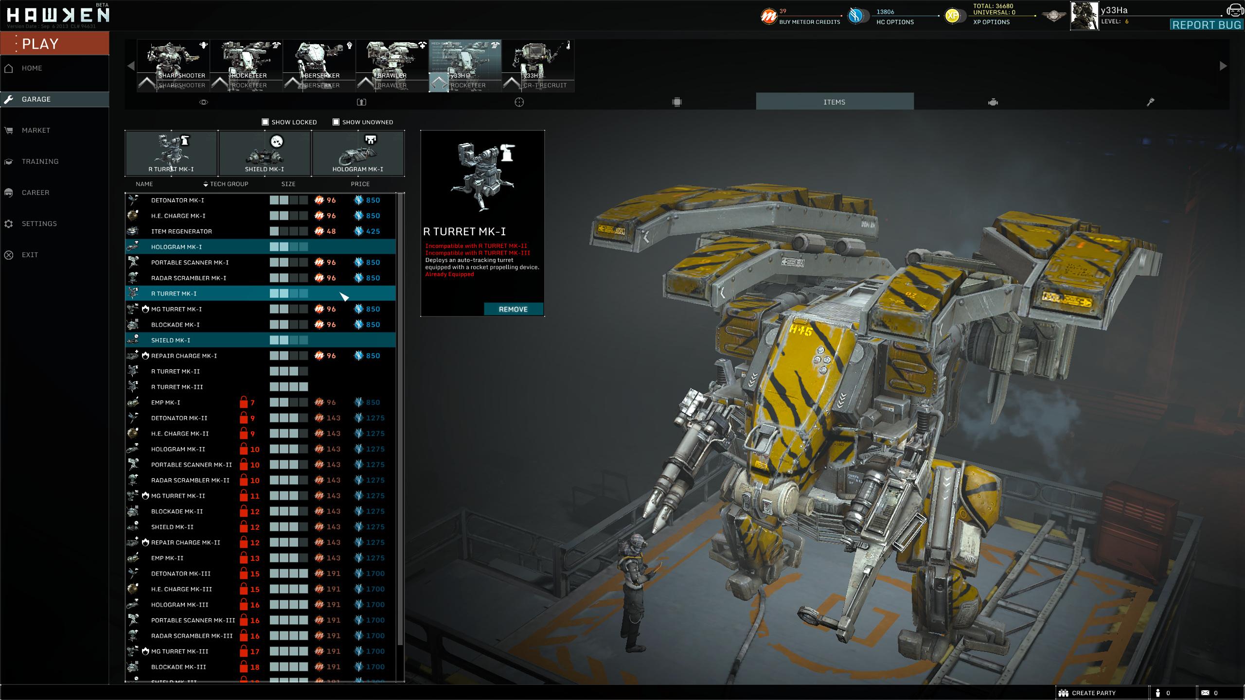 Betatest Hawken: Der F2P-UE3-Indie-Mech-Shooter -