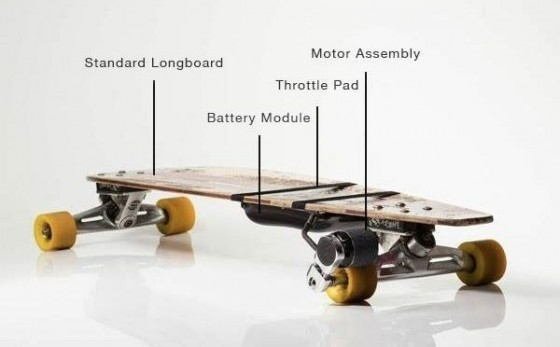 Permalink to Electric Skateboard Kit