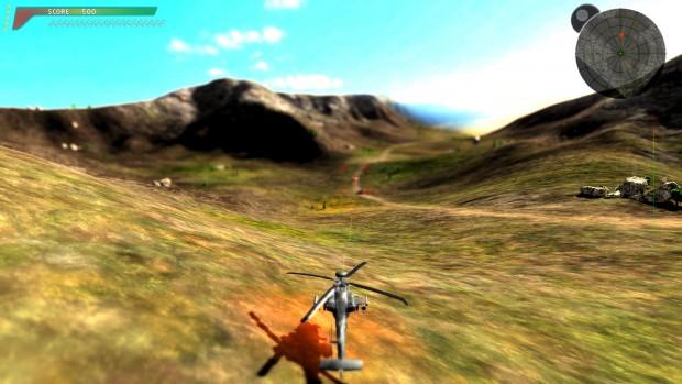 Blackfoot Blade nutzt Pixel Puzzle, zudem bietet das DX11-Spiel einen Deferred Renderer. (Screenshot: Marc Sauter/Golem.de)