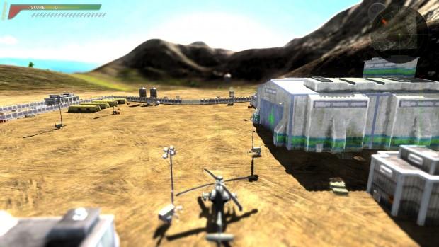Mit Tiefenunschärfe, auf Englisch Depth of Field, wirkt das Spiel realistischer ... (Screenshot: Marc Sauter/Golem.de)