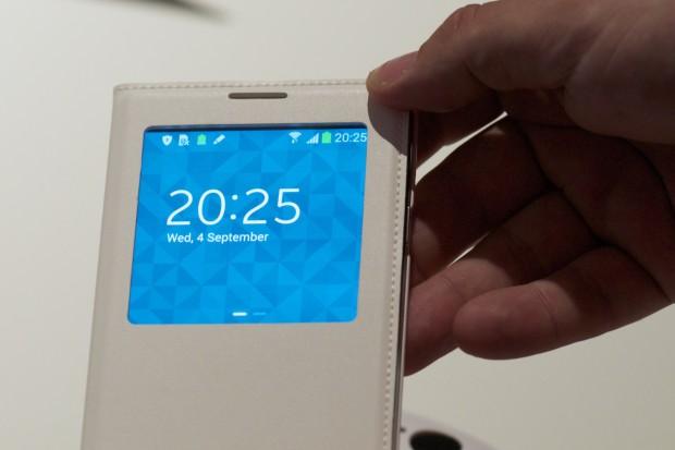 Der Touchscreen... (Foto: Andreas Sebayang/Golem.de)