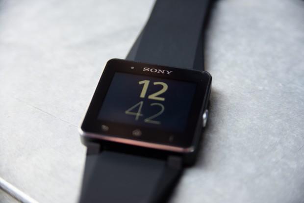 Die neue Smartwatch 2 von Sony (Bild: Fabian Hamacher/Golem.de)