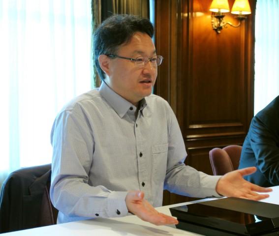 Shuhei Yoshida im Interview mit Golem.de (Bild: Tobias Költzsch/Golem.de)