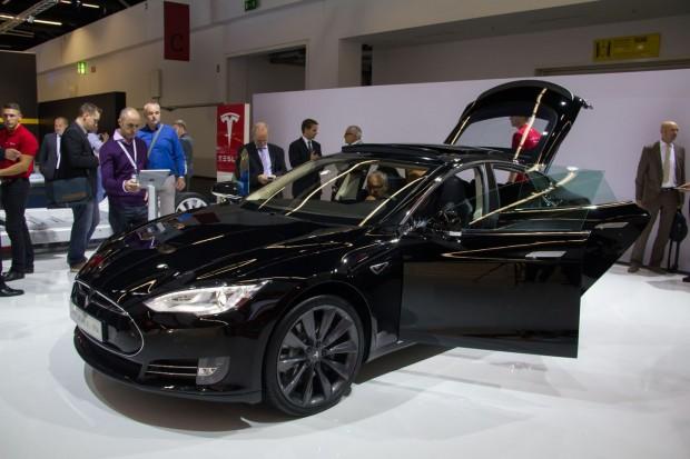 Das Auto ist laut Tesla stark nachgefragt - die Jahresproduktion wurde bereits angehoben. (Foto: Werner Pluta/Golem.de)