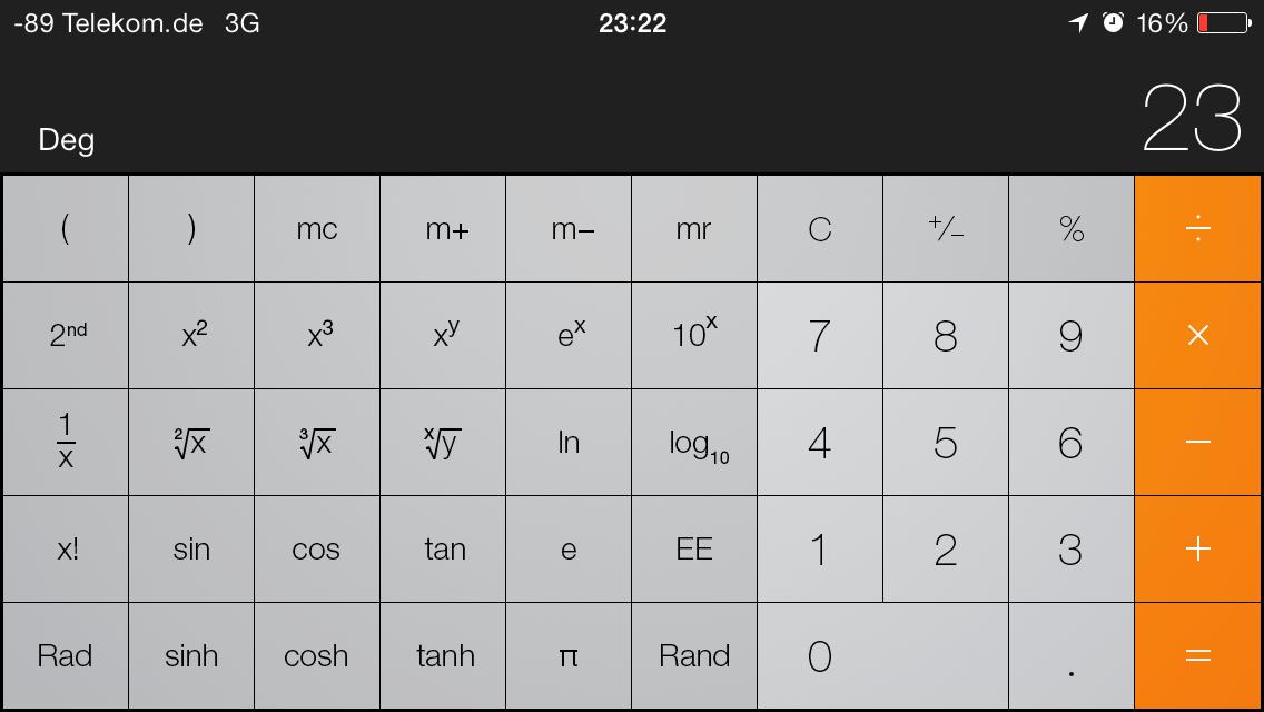 iOS 7 im Test: Bunte Farben und kleine Kompatibilitätsprobleme - ...im neuen Design (Screenshot: Golem.de)