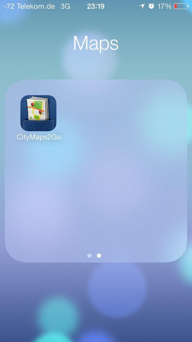 iOS 7 im Test: Bunte Farben und kleine Kompatibilitätsprobleme - ...mehrere Seiten beinhalten.(Screenshot: Golem.de)