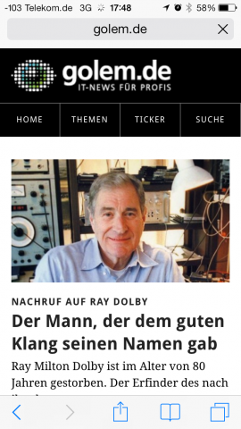Die Bedienungselemente des Browsers... (Screenshot: Golem.de)