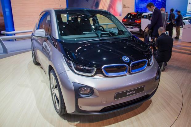 Der BMW i3 - das erste elektrische Serienfahrzeug der Münchner (Foto: Werner Pluta/Golem.de)