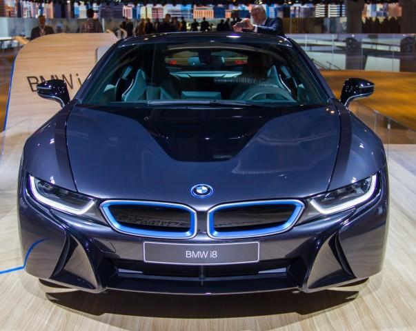 Der BMW i8 auf der IAA 2013 (Foto: Werner Pluta/Golem.de)