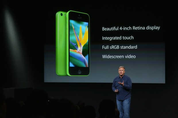 Apple kündigt das iPhone 5C an. (Bild: Justin Sullivan/Getty Images News)