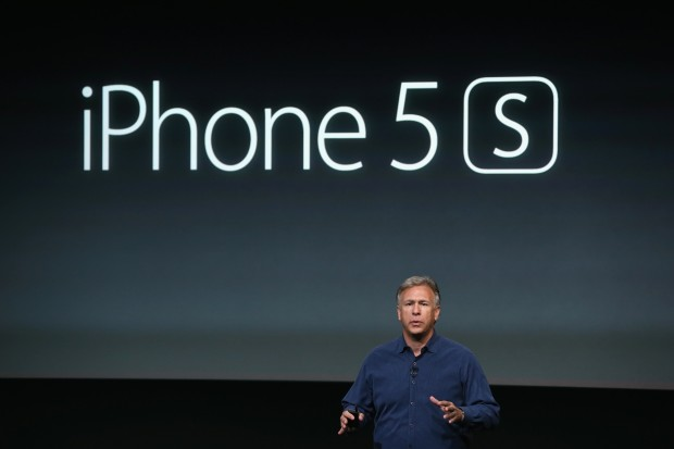 Apple präsentiert das iPhone 5S. (Bild: Justin Sullivan/Getty Images)