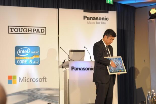 Panasonics Toughbook 4K ist ein 20-Zoll-Tablet. (Foto: Andreas Sebayang/Golem.de)