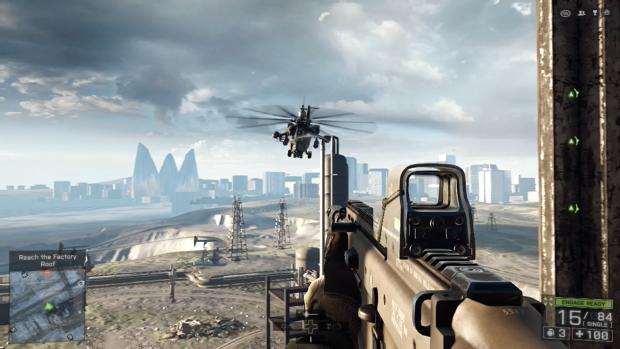 Battlefield 4 auf der Playstation 4 im 720p-Modus