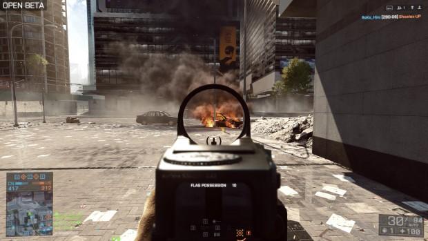Rauch und Feuer beherrscht die Frostbite-3-Engine sehr gut. (Screenshot: Marc Sauter/Golem.de)