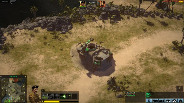 Das Tunnelsystem der GBA ist in Command & Conquer sehr simpel umgesetzt, in die Stollen passen zudem viele Einheiten. (Screenshot: Marc Sauter/Golem.de)