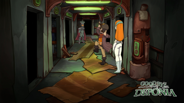 Goodbye Deponia (Bilder: Daedalic Entertainment)