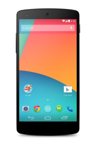 Das Nexus 5 mit Android 4.4 (Bild: Google)