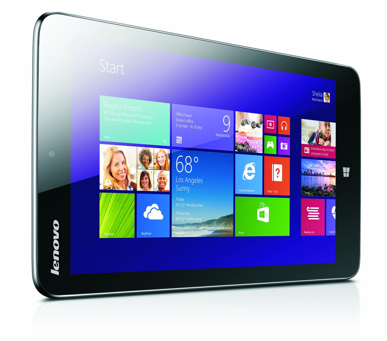 Lenovo Miix 2: 8-Zoll-Tablet mit Windows 8.1 und Bay-Trail-SoC für 300 USD -