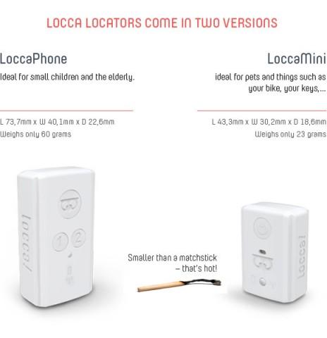 Loccaphone und Loccamini (Bild: Indiegogo)