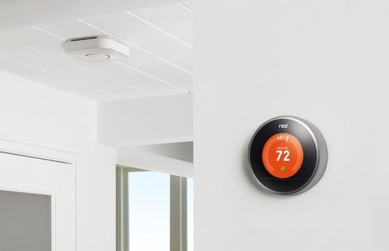 Nest Protect und der Thermostat (Bild: Nest)