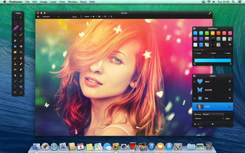 Bildbearbeitung: Pixelmator 3.0 FX unterstützt Mavericks und spart Strom - Pixelmator 3.0 FX (Bild: Pixelmator)