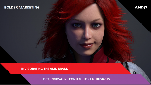 Frecheres Marketing will AMD - Ziel erreicht.