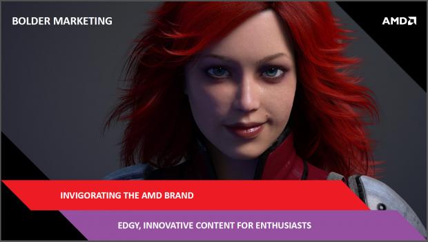 Frecheres Marketing will AMD - Ziel erreicht.