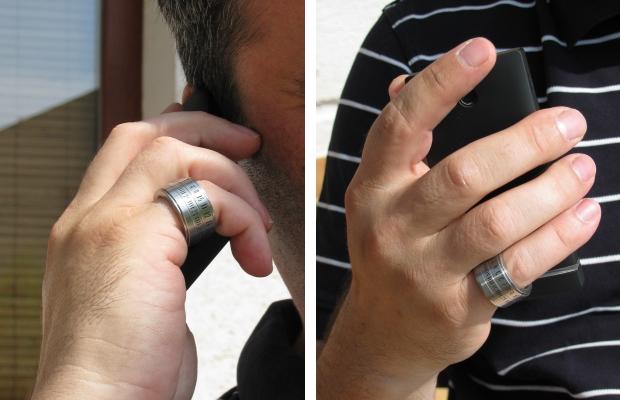 Ring Clock: Ringuhr mit Induktionsladung - Ring Clock (Bild: Indiegogo)