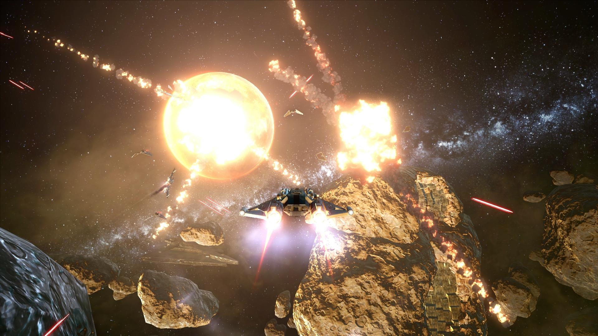 SWTOR: Weltraumschlachten für Sternenkrieger - SWTOR: Galactic Starfighter (Bilder: EA)