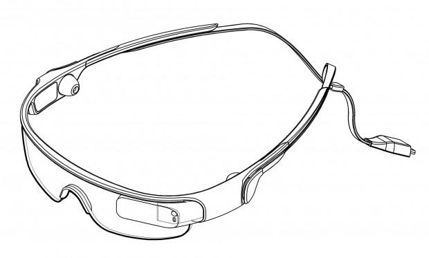 Samsung hat beim südkoreanischen Patentamt das Design für eine Datenbrille angemeldet. (Bild: Samsung)