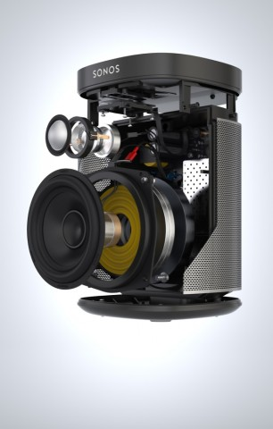 Play 1: Sonos bringt winzigen Drahtlos-Lautsprecher fürs Bad - Golem.de