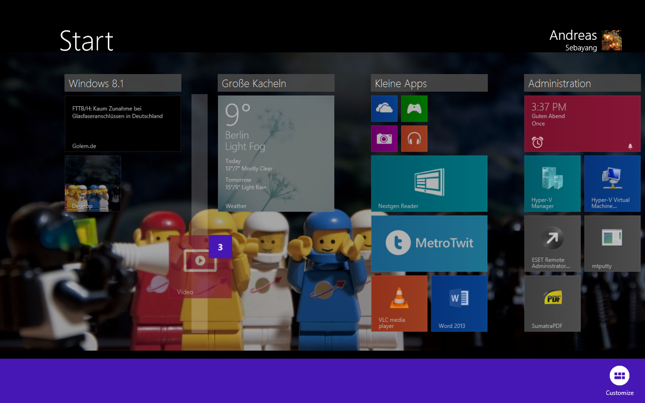 Windows 8.1 im Test: Nicht mehr die Suche suchen -