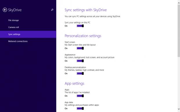 Die Synchronisationsoptionen sind deutlich verbessert worden. (Screenshot: Golem.de)