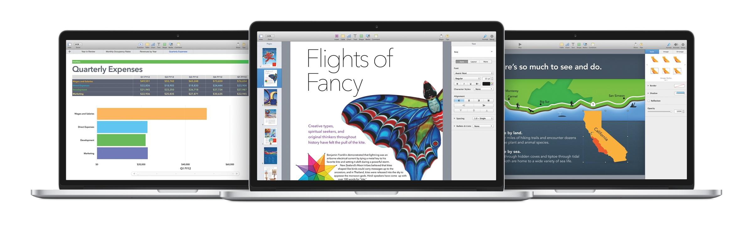 iWork und iLife: Apple verschenkt Bürosuite und Kreativ-Apps - iWork