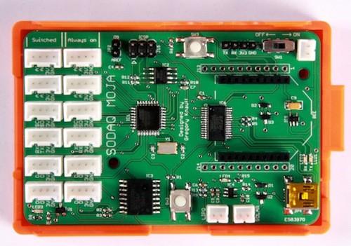 Das Sodaq Moja in einer Raspberry-Pi-Hülle (Bilder: Sodaq)