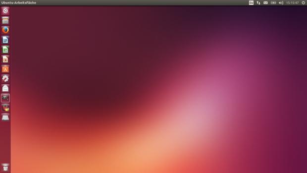 Der Desktop von Ubuntu 13.10 (Screenshots: Golem.de)