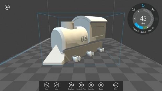 3D Builder (Bild: Microsoft)