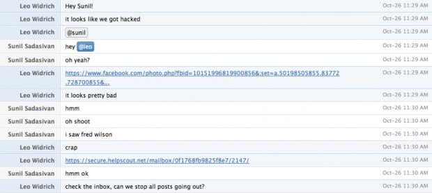 Das Buffer-Team entdeckt die Attacke. (Screenshot: Netzwertig.com)