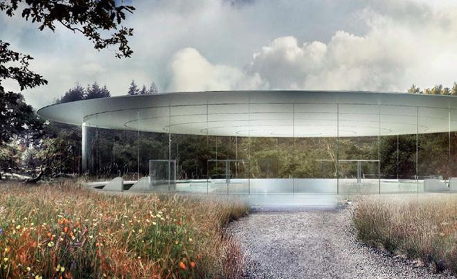Neue Bilder: So sieht das Innere von Apples neuem Hauptquartier aus - Das Auditorium von Apple (Bild: Stadt Cupertino)