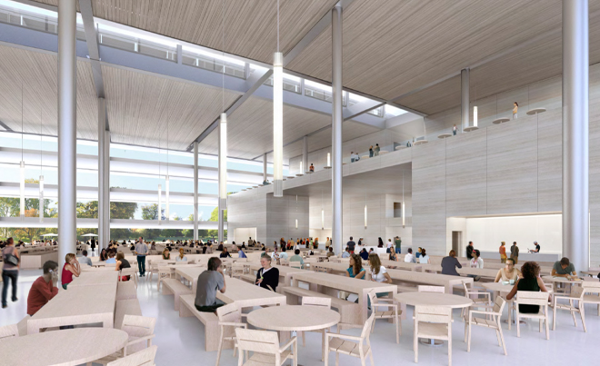 Neue Bilder: So sieht das Innere von Apples neuem Hauptquartier aus -