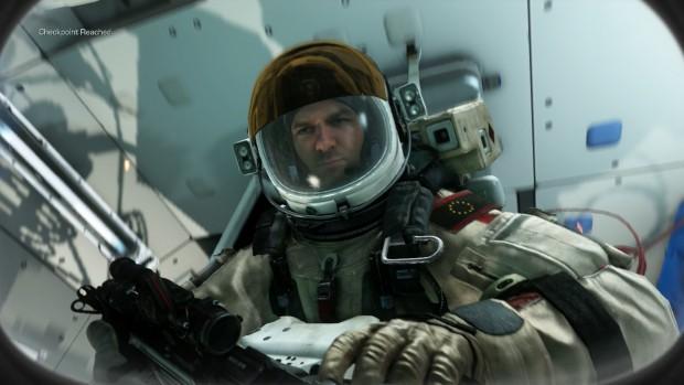 Für Konsolenverhältnisse sieht der südamerikanische Astronaut in Ghosts sehr gut aus. (Bild: Golem.de)