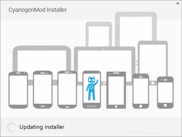 Installer für Cyanogenmod (Bild: Cyanogenmod)