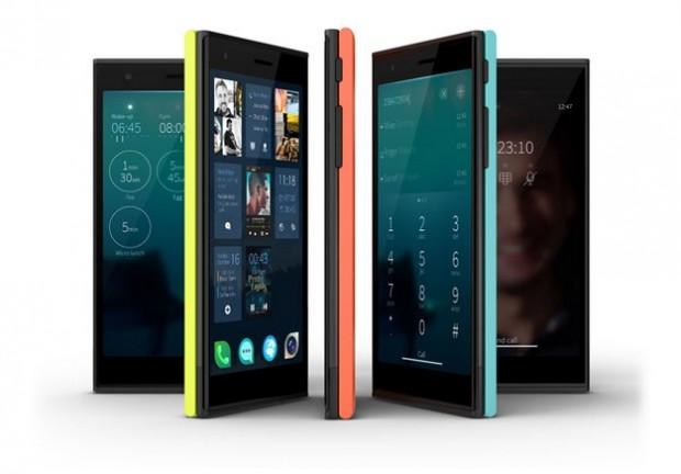 Jollas erstes Smartphone mit Sailfish OS (Bild: Jolla)