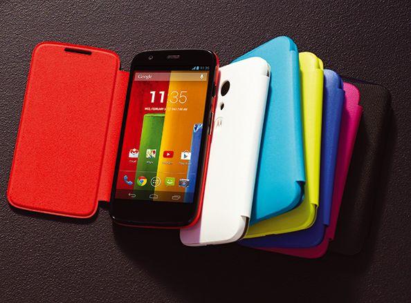 Motorola Moto G: 16-GByte-Version schwer zu bekommen, Kitkat-Update ist da - Moto G (Bild: Motorola)