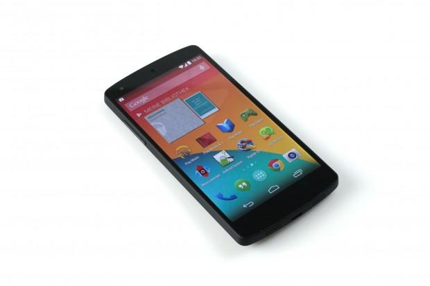 Das Nexus 5 (Foto: Nina Sebayang/Golem.de)