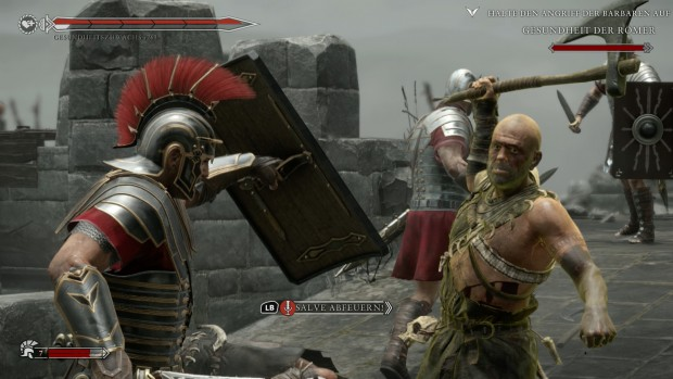 Ryse: Son of Rome auf Xbox One (Screenshot: Golem.de)