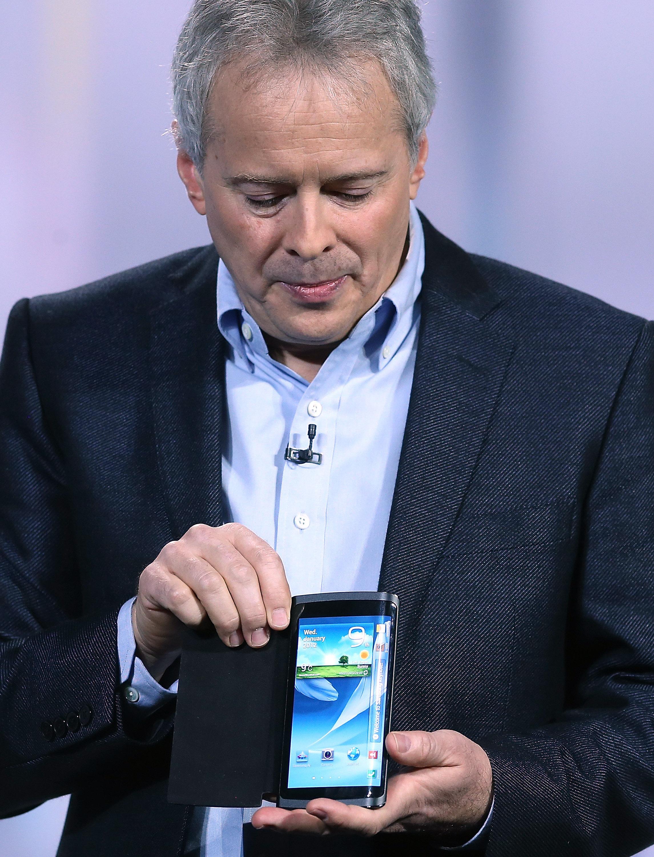 Samsung: Neues Smartphone mit gekrümmtem Display geplant -